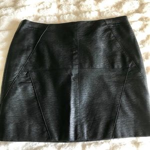NWT Faux Leather Skirt Size Small